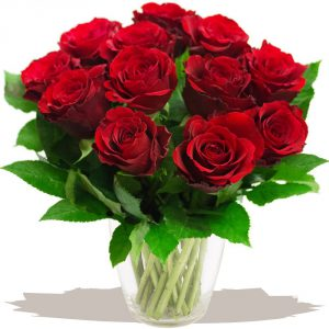 12 classic red roses bouquet bouquets of romantic red roses for love anniversaries and valentines day by eden4flowers